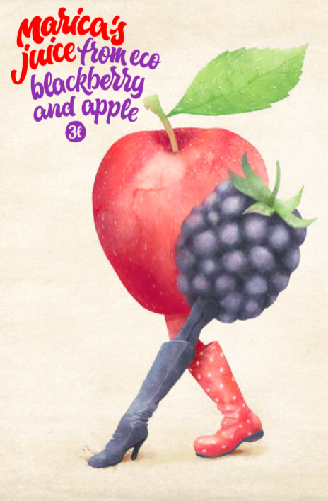 kupina jabuka 3L