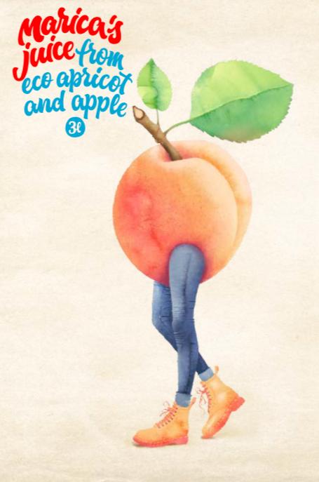 marelica i jabuka 3L engl